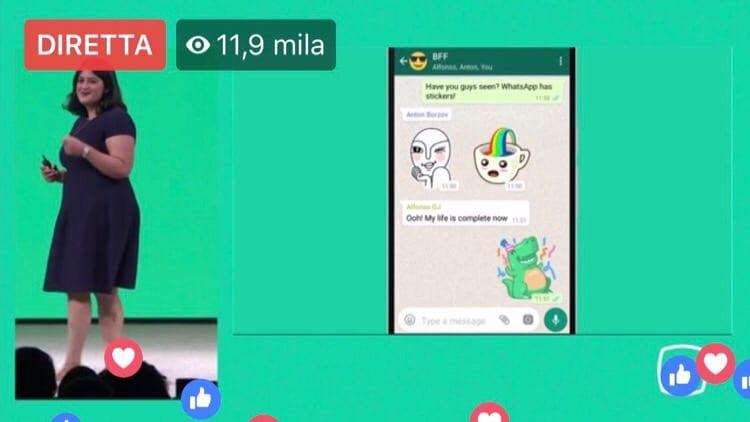 Evento F8 Facebook: ecco le Novità in arrivo su Whatsapp