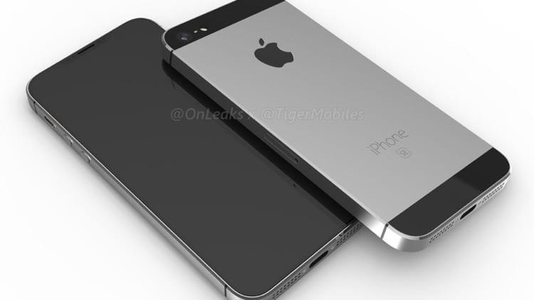 iPhone SE 2018: @onleaks pubblica i suoi rendering d'un come potrebbe essere [Video]