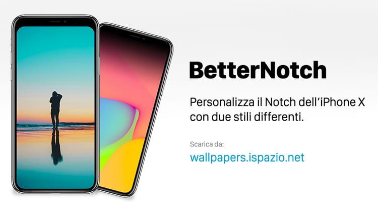 BetterNotch: il nostro Workflow ufficiale che vi permette di personalizzare lo stile del Notch su iPhone X