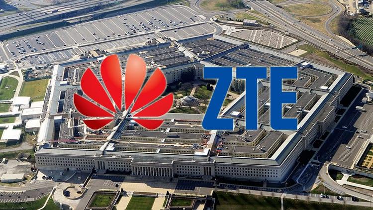 Il Pentagono vieta l'utilizzo di smartphone Huawei e ZTE in basi militari: «sono un rischio per la sicurezza»