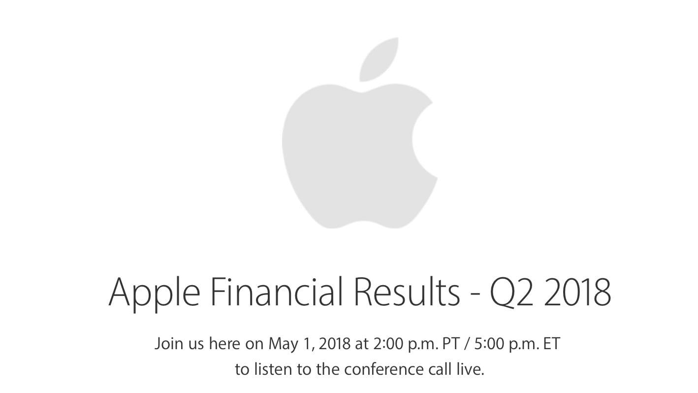 Apple pubblica i risultati fiscali del Q2 2018! Ricavi per 61 miliarid e 52 milioni di iPhone venduti!