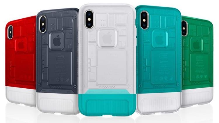 Spigen lancia le nuove cover per iPhone X ispirate ai classici design Apple