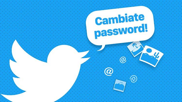Twitter agli utenti dopo la scoperta di un glitch: «cambiate le vostre password!»