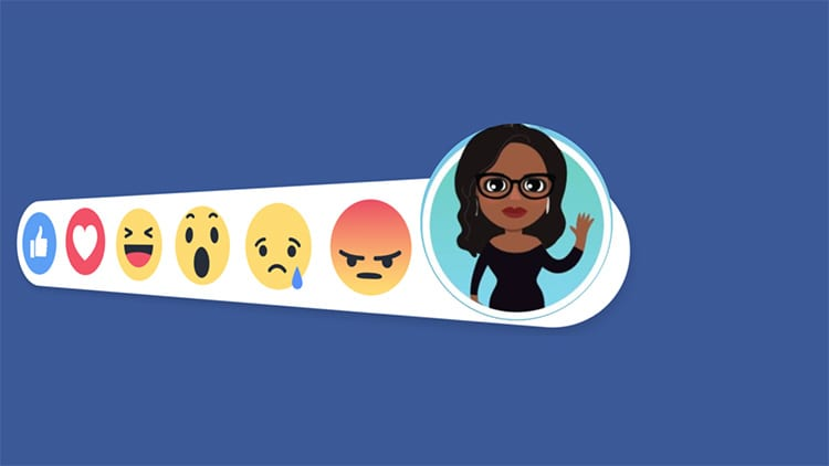 Facebook: in arrivo gli avatar in stile Bitmoji