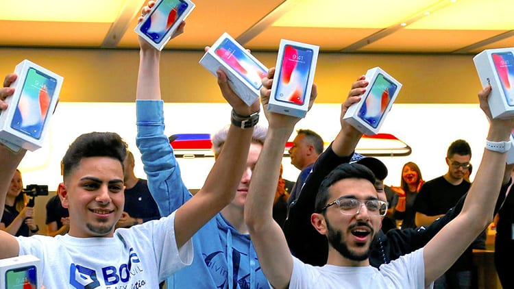 350 milioni di utenti sono pronti ad aggiornare il proprio iPhone nel 2018