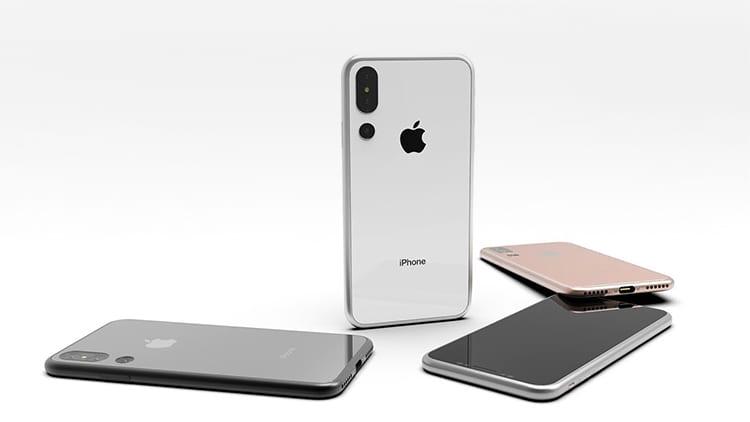 Un concept di iPhone X Plus in vari colori e tripla fotocamera [Video]
