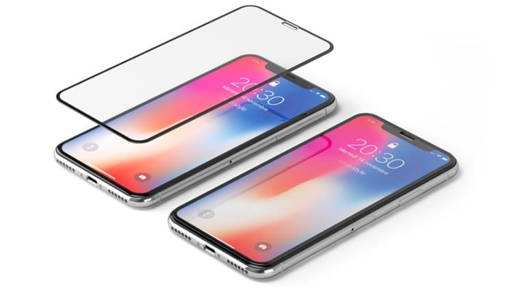 Dopo le vacanze sostituite il vostro Vetro Temperato con HyperGlass 3D PRO per iPhone X