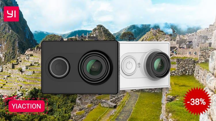 Yi Action Camera che registra a 1080p/60fps in sconto a 30,99€ con questo Coupon
