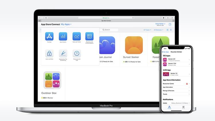 Apple ha ufficialmente rinominato iTunes Connect in App Store Connect