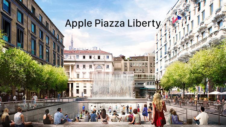 L'Apple Store di Piazza Liberty a Milano sarà inaugurato il 26 Luglio