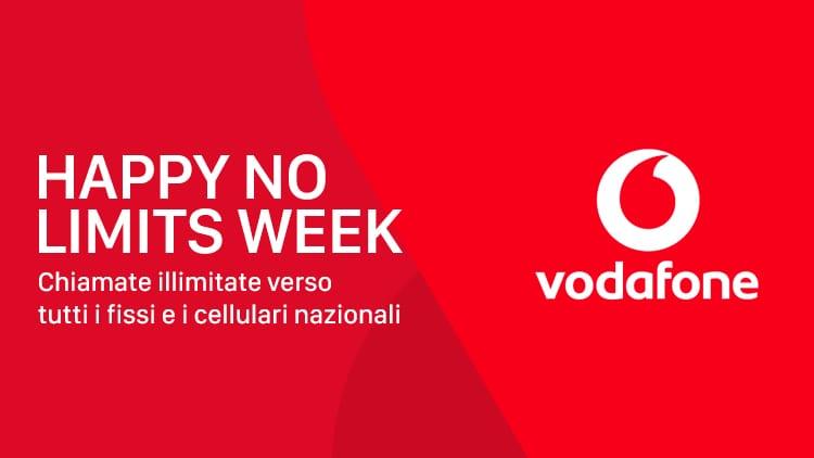 Vodafone Happy Friday: 7 giorni di chiamate illimitate verso tutti, Huawei P20 e buono SuperEnalotto