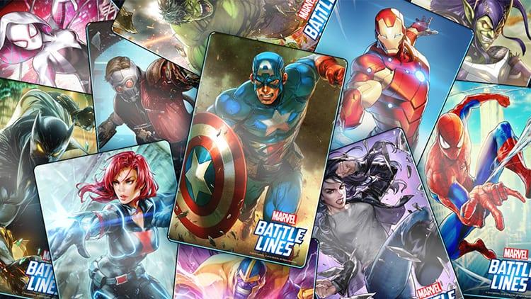 In arrivo MARVEL Battle Lines, nuovo gioco strategico di carte collezionabili