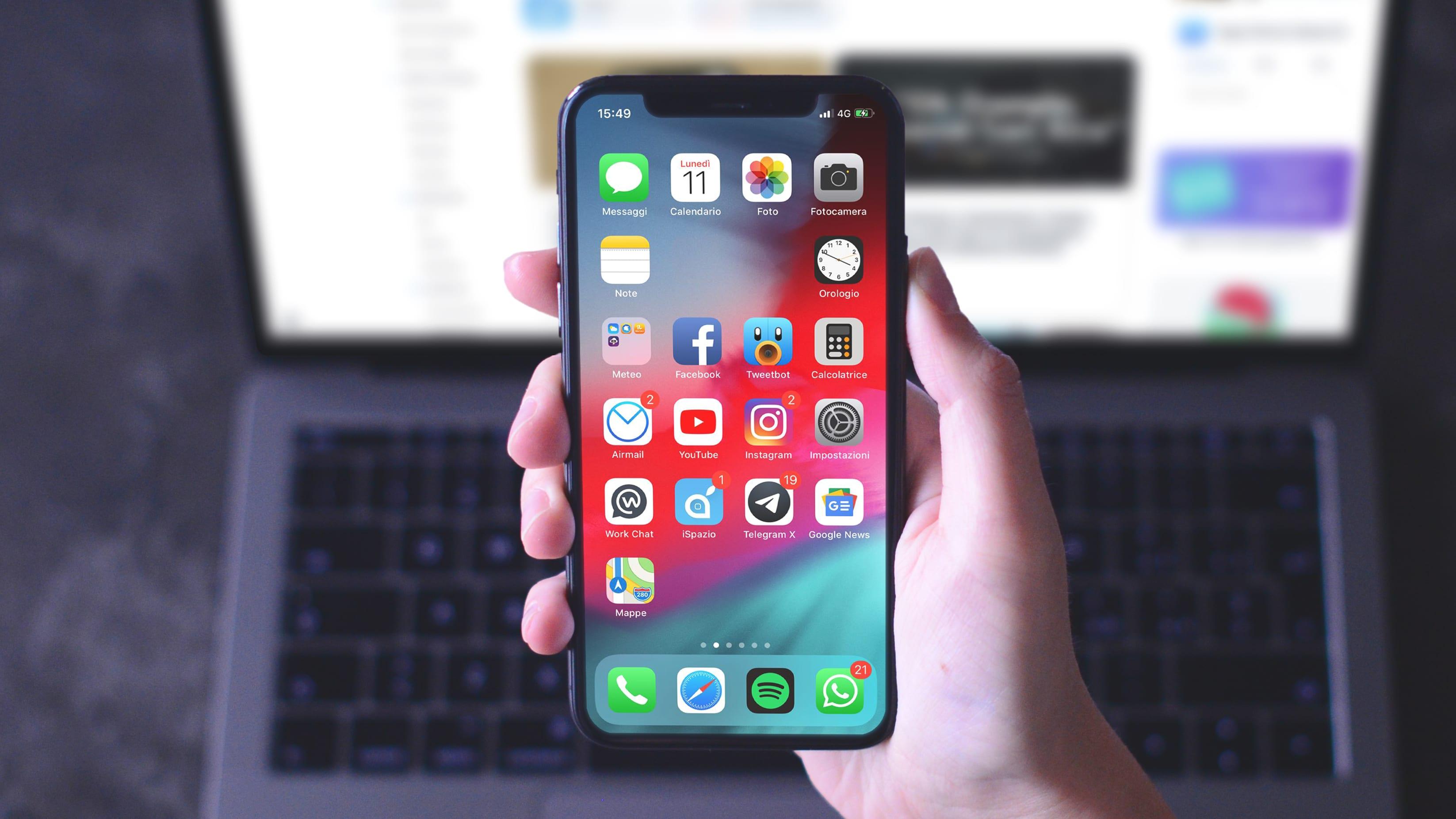 Come disporre liberamente le applicazioni nella schermata home di iOS, creando spazi vuoti | Guida