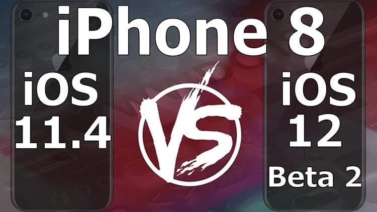 iOS 12 beta 2 vs iOS 11.4: qual è la versione più veloce? [Video]