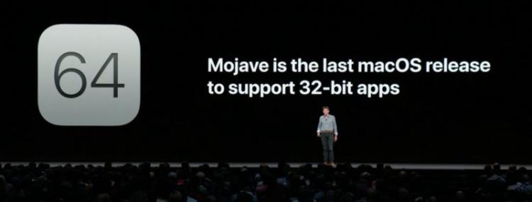 Mojave et le 32bits