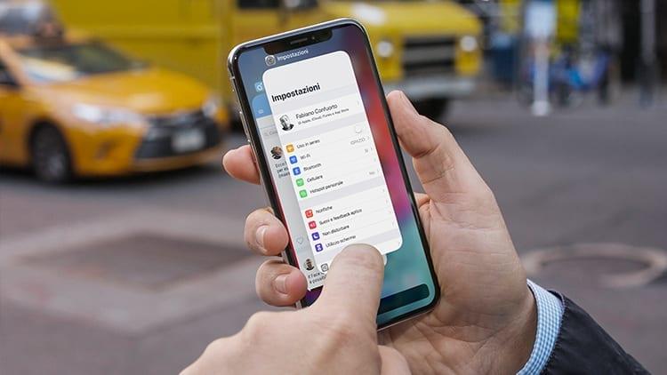 iOS 12 velocizza la chiusura delle app in multitasking su iPhone X [Video]