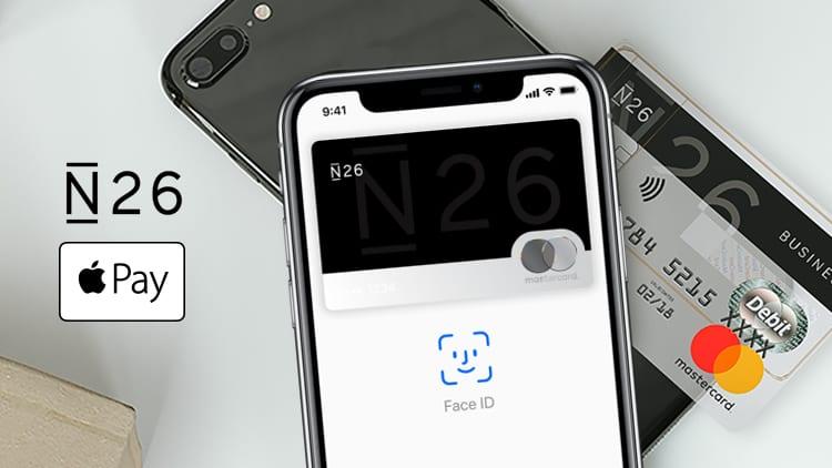 N26: conto corrente e carta gratuiti con supporto Apple Pay