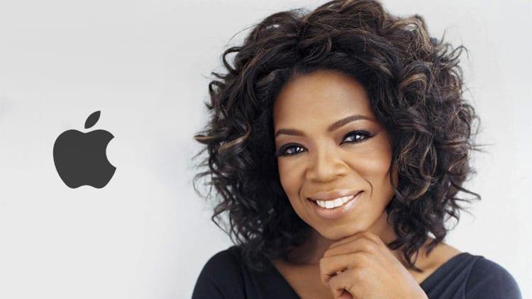 Apple annuncia una partnership pluriennale con Oprah Winfrey: creerà nuovi contenuti originali per la piattaforma Apple