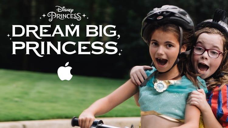 "Disney lancia l'iniziativa ""Dream Big, Princess"", Apple fornirà iPhone X e MacBook Pro [Video]"