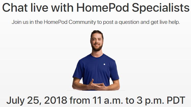 Evento in diretta dedicato ad HomePod: gli esperti Apple risponderanno alle domande degli utenti