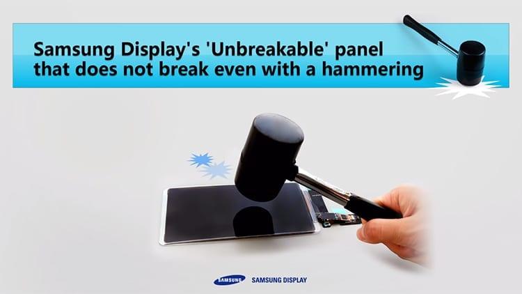 Samsung mostra il suo display OLED indistruttibile in azione! [Video]