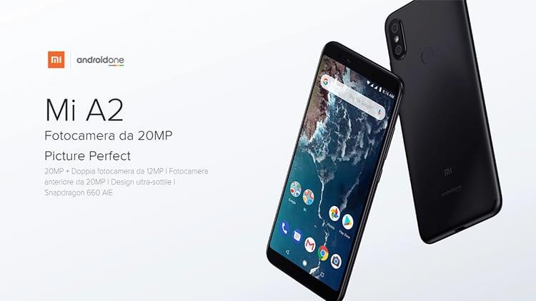 Xiaomi annuncia Mi A2 e Mi A2 Lite, la prossima generazione di smartphone Android One