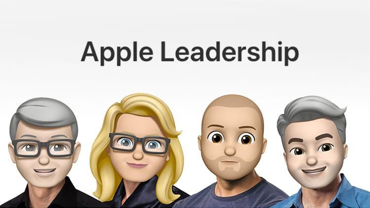 Apple trasforma in Memoji tutti i dirigenti dell'azienda per la Giornata Mondiale delle Emoji
