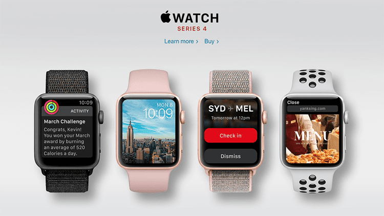 LEAK: Ecco Apple Watch Serie 4 con dispaly edge-to-edge