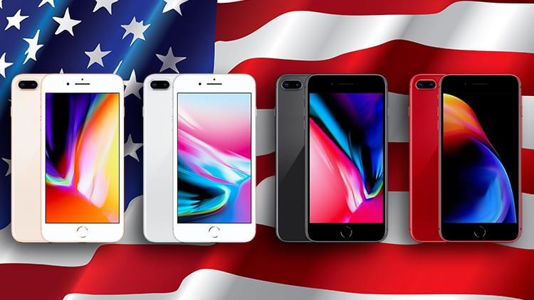 iPhone 8 Plus è stato l'iPhone più venduto negli USA nel Q2 2018
