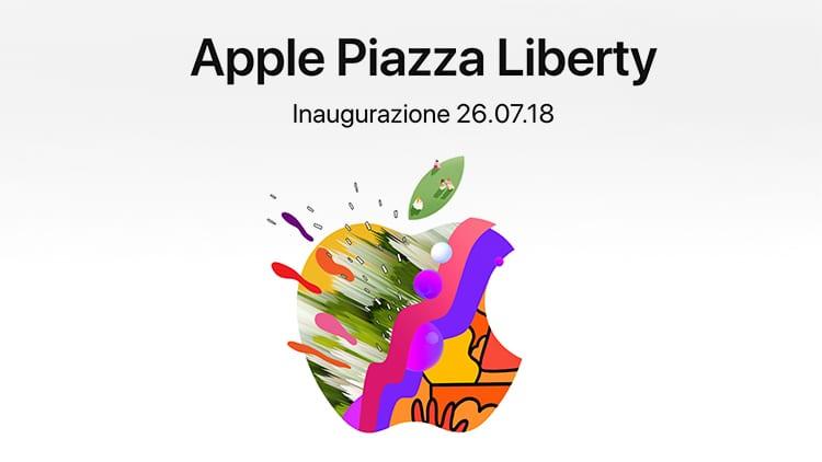 Apple Piazza Liberty: tanti gli eventi già in programma e nuove informazioni sull'apertura del nuovo Store