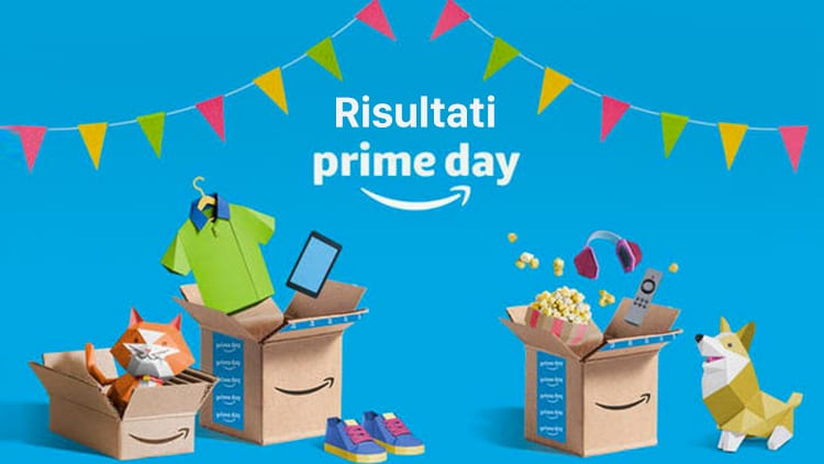 Risultati Amazon Prime Day 2018: superati i record degli anni precedenti