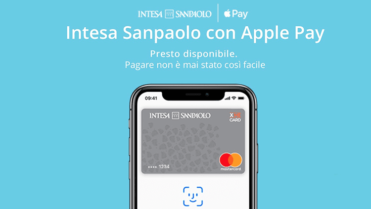 Apple Pay: è possibile aggiungere alcune carte del gruppo Intesa Sanpaolo!