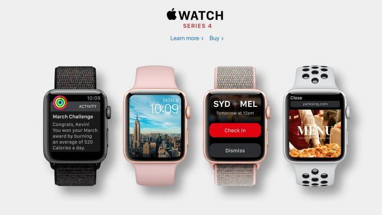 Apple registra i modelli di Apple Watch Series 4 in Eurasia in vista del lancio a Settembre