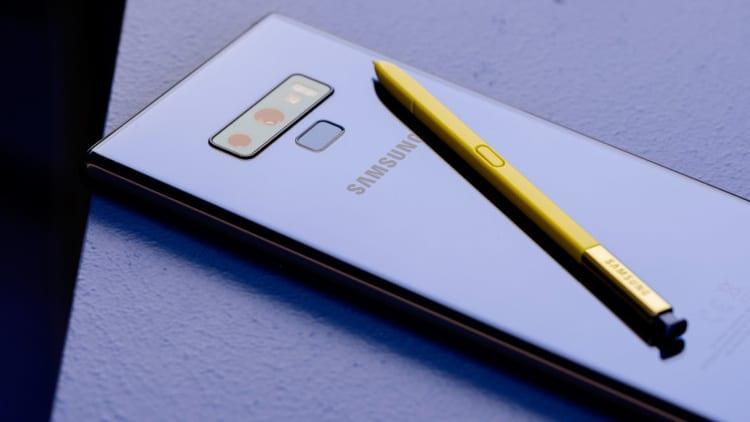 iPhone X supera il nuovo Galaxy Note 9 nei primi test benchmark!