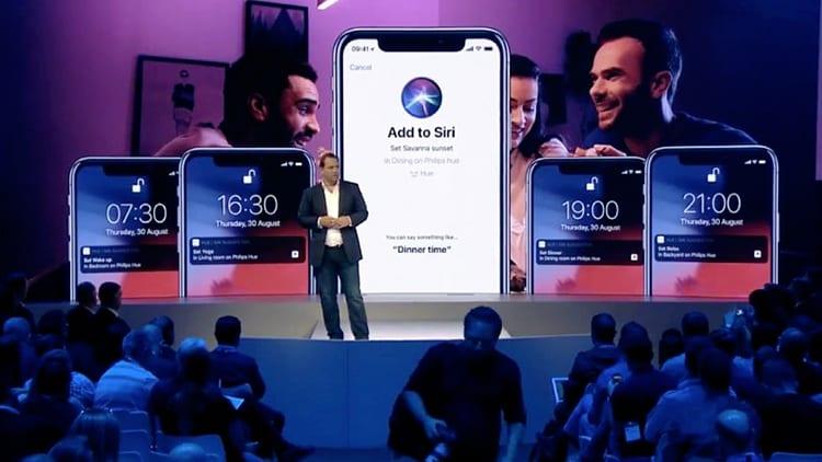 IFA 2018, Philips: l'applicazione Hue supporterà Siri Shortcuts di iOS 12