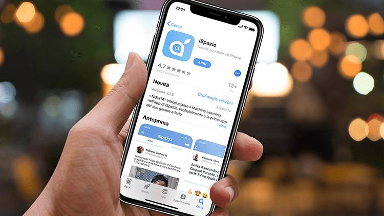 L'app di iSpazio é nuovamente disponibile al download in AppStore