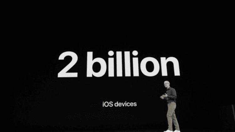 Apple in procinto di raggiungere i 2 miliardi di dispositivi che utilizzano iOS