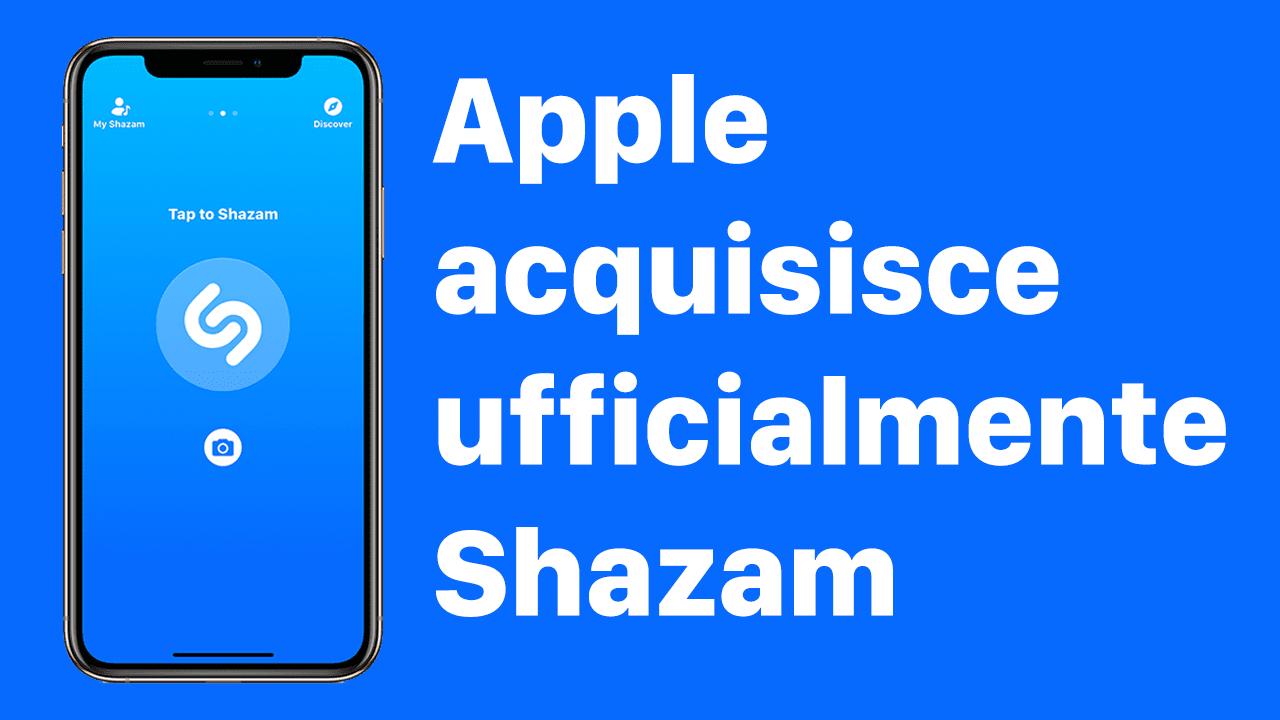 L'app Shazam sarà presto senza pubblicità grazie all'acquisizione di Apple