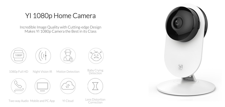Yi Home 1080p: Due videocamere di sorveglianza ad un prezzo speciale