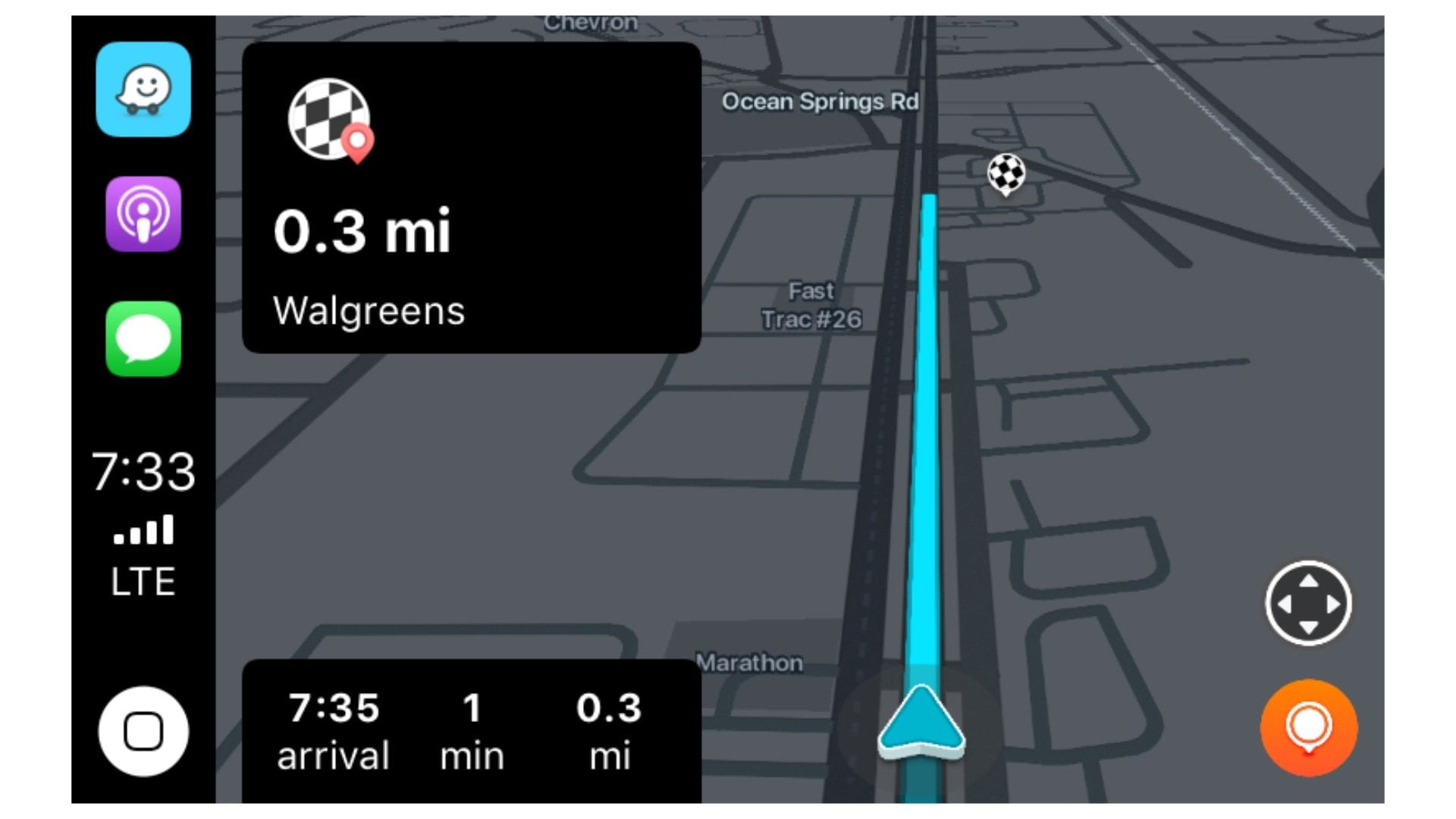The navigator Waze is now also available on CarPla      BitFeed co