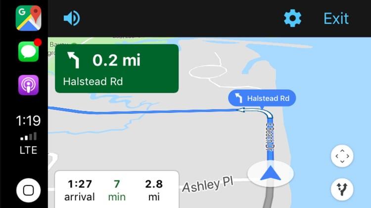 Google Maps finalmente supporta CarPlay: da adesso potrete utilizzare l'app nella vostra auto