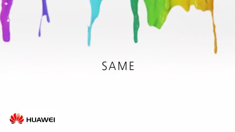 """Huawei si fa beffa di Apple: """"Grazie di aver lasciato le cose uguali"""""""