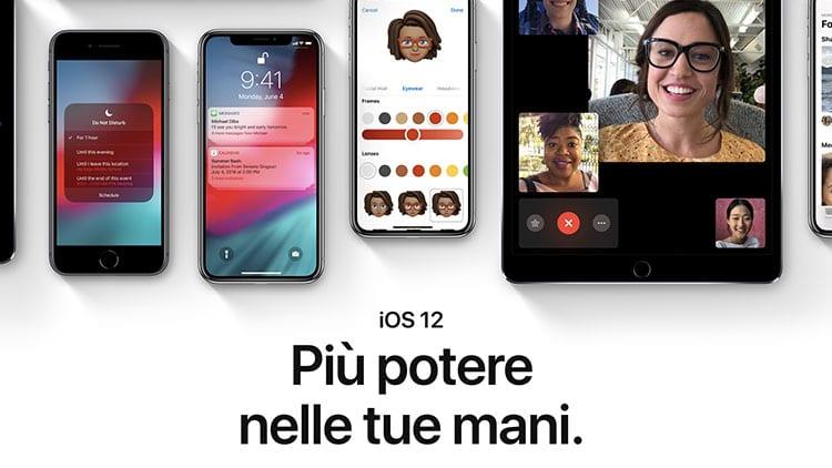 Aumenta il tasso di adozione di iOS 12: installato su 4 dispositivi su 5