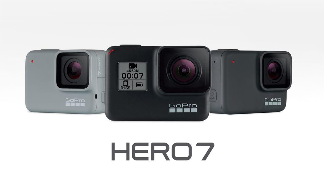 GoPro lancia le nuove Hero 7: più economiche e con diverse funzioni orientate ai social