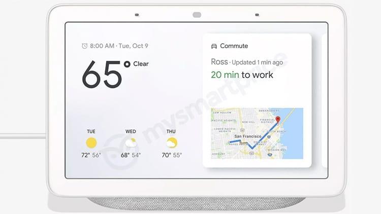 Un Leak svela in anticipo il nuovo Google Home Hub: uno smart speaker con display