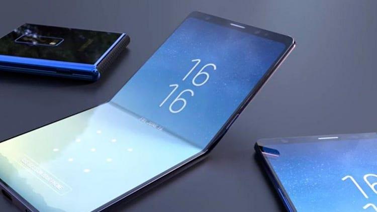 Samsung annuncia il lancio di uno smartphone pieghevole entro la fine del 2018