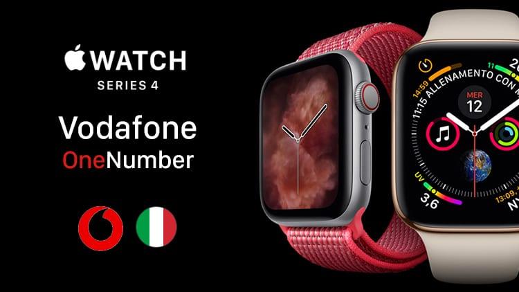 Svelato il costo del servizio OneNumber di Vodafone per l'Apple Watch Serie 4 LTE