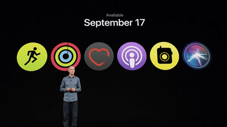 watchOS 5 sarà disponibile per tutti il 17 Settembre