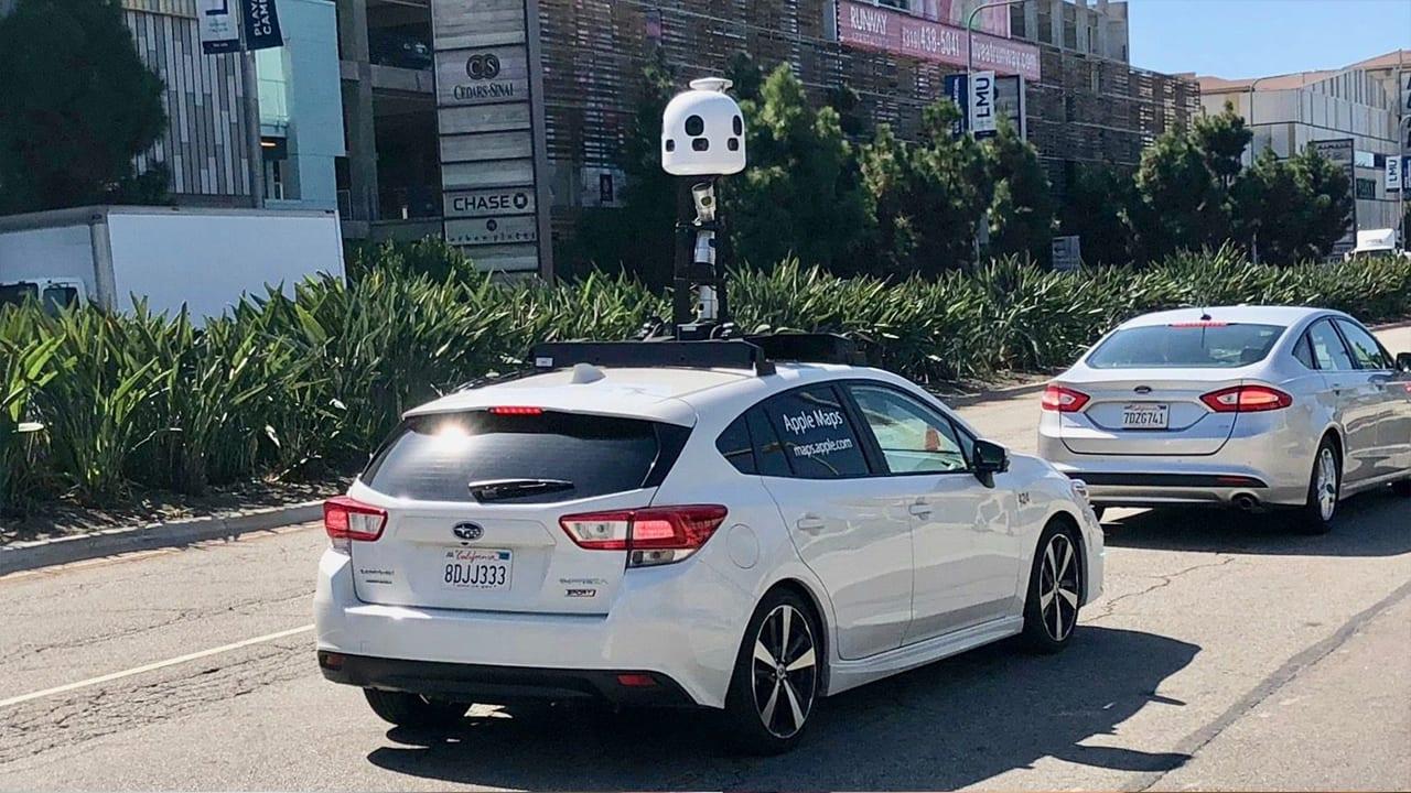Apple utilizza nuovi veicoli e telecamere per creare da zero il miglior servizio di mappe