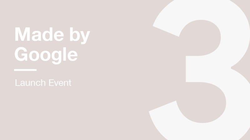 Evento Google: oggi alle 17:00 in diretta. L'azienda ci ha preso in giro con tanti leak fasulli?
